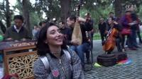 天坛公园民乐合奏2016—0154号