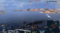 『战舰世界A君解说』第144期:8公里光速雷疯狂斩杀,天时地利人和造就神话岛风,日系10级DD岛风驱逐舰