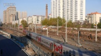 北京-莫斯科 K19次通过哈尔滨康宁桥