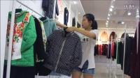 特价品牌冬装【红迪丝】视频专柜一线品牌女装货源、莎奴服饰品牌女装折扣批发