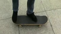 著名滑手王汇丰中文滑板教学第9课- Backside Kickflip