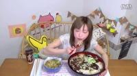 【木下大胃王】9合米饭做成的炖牛筋盖饭加美味味增汤5.7kg @柚子木字幕组_标清