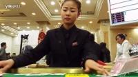 缅甸果敢老街赌场美女荷官发牌过程_标清