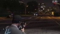 GTA5(新手)带敢死队员与警察激战