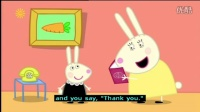 加舟英语 粉红猪小妹 英文字幕Peppa Pig (Series 1) - School Play