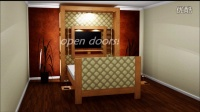 Multi-purpose furniture - Five rooms in one room - Swivel Murphy Bed