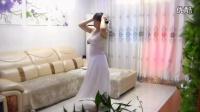 【蛇一般的女子】舞妹儿白裙热舞自拍性感的蛇舞