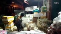 百色蔬菜批发市场一角……