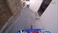 极限单车速降Yoann Barelli 大神带你看 2016塔斯科城市速降赛第一人称视角