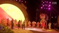 """2016南宁国际民歌艺术节""""绿城歌台""""中心舞台风情东南亚之夜:东盟歌手联唱《东盟一家亲》"""