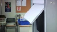上海锐净爱格升壁挂式带键盘托显示器支架病房用可折叠支臂45-266-026