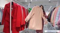 【迪卡轩】双面羊绒大衣视频 品牌女装尾货 折扣女装
