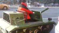雪地坦克可放礼炮 雪地娱乐坦克冰雪旅游娱乐项目