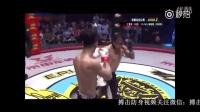 中国拳手扛起菲律宾拳手砸向地面 打爆其太阳穴
