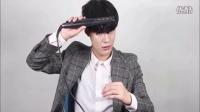 脸大适合什么发型#男士发型#韩式空气纹理发型这样打理4,带你玩转韩式时尚