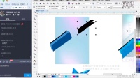 CDR教程 印刷广告-卡片制作 CDR排版设计 coreldraw视频教程
