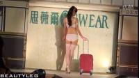 无打底透明内衣秀现场表演美女模特内衣秀发布会现场