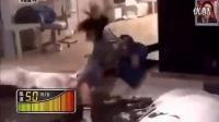 日本整人节目好凶残,美女整个被吹得飞走了。日本艺人上综艺好拼_标清