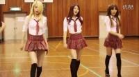 [杨晃]超性感学生制服短裙诱惑 韩国女团HELLOVENUS舞蹈版新单StickySticky_超清