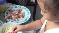 一起做美食金针菇培根卷