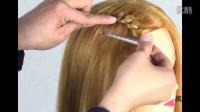飞机头发型图片仙女扣与荷兰瀑布流编发组合2,弄个自己满意的发型