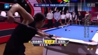 世界桌球冠军美女用拖布杆打桌球,玩爆全场