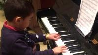 D小调 钢琴考级三级 毛豆五岁