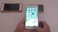 苹果7plus全新展示对比八核手机 功能演示对比 三星w2017