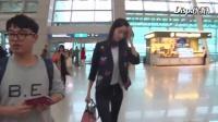 少女时代 林允儿 最新行程仁川机场 韩国新闻视频 160408