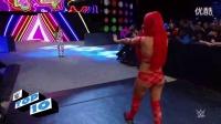 WWE美国职业摔角女 玛丽斯VS尼基 美国女职业摔角