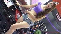 【美女热舞系列】29_美腿紫色美女车模__国内改装