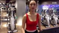 【韩国女团系列】1_性感美女模特网红_甜菜玉_健身房健身红衣服