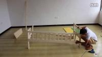 七沫家具实木儿童床加宽床拼接床安装视频