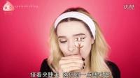【丽子美妆】中文字幕 MyPaleSkin-简单光泽珊瑚色妆容