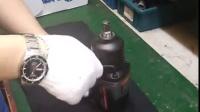 荣鹏小型汽车气动风扳内部结构零件拆装操作视频