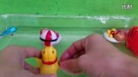 会游泳的小动物游泳 汪汪队立大功 玩具总动员 小猪佩奇gg0