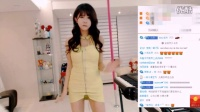 韩国女主播真会玩,看韩国性感美女网络主播许允美是这样直播的