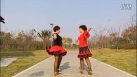 广场 舞 双人舞对跳 恰恰舞(2)《 天天把歌唱》 义乌江湾