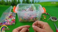 波普串珠游戏女孩DIY玩具亲子游戏