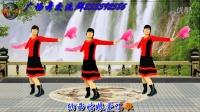 明阁广场舞扇子舞《纳西情歌》欢快简单的扇子舞