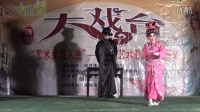"""珠海市粤剧团""""艺术点亮人生""""粤剧艺术普及系列活动。折子戏《武松打店》表演者:优秀青年演员张友、邓穆娜。"""
