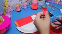 幼儿亲子手工制作---蛋糕盘--小鸡