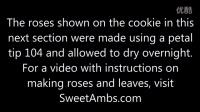 褶皱花边翻糖饼干