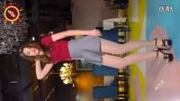 1【美女毛毛】标志演员灰色美腿摇摆热舞