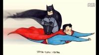 蝙蝠侠对超人点评 (无据透)
