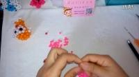 婷儿DIY手工坊串珠       生肖猴挂件猴视频