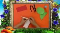 幼儿手工制作《趣味撕纸之西瓜》