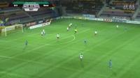 2016、8、13白俄罗斯超级联赛 bate 3 -1 minsk, bate队Kaspars DUBRA ,蓝衣 4号,第50分进球