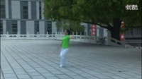 《祖国万岁》第 8 节 转身探海 柔力球健身套路第十六套_标清