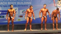 IFBB Bodybuilding Prejudging Video (5th Asian Beach Games Danang 2016)